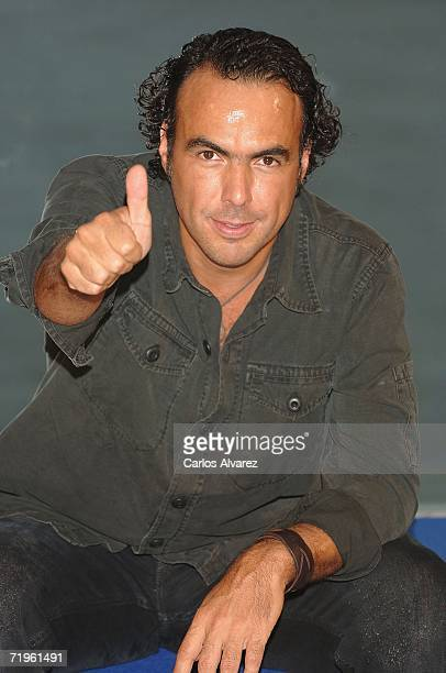 Director Alejandro Gonzalez Inarritu attends photocall for his movie 'Babel' during the firts day of 54th San Sebastian Film Festival at the Kursaal...