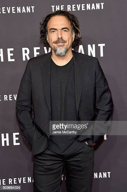 Director Alejandro Gonzalez Inarritu attends The Revenant New York special screening on January 6 2016 in New York City