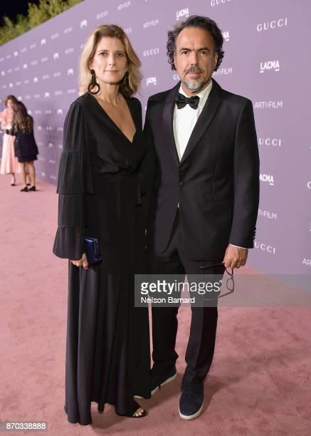 Director Alejandro González Iñárritu and María Eladia Hagerman attends the 2017 LACMA Art Film Gala Honoring Mark Bradford and George Lucas presented...