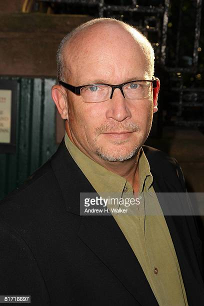 Director Alex Gibney attends the reception for Gonzo The Life and Work of Dr Hunter S Thompson on June 25 2008 at The Waverly Inn in New York City