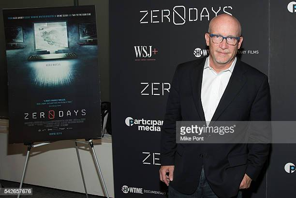 Director Alex Gibney attends the Zero Days New York Premiere at New York Institute of Technology on June 23 2016 in New York City