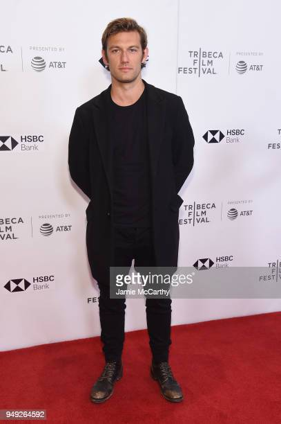 Director Alex Pettyfer attends the screening of 'Back Roads' during the Tribeca Film Festival at Cinepolis Chelsea on April 20 2018 in New York City