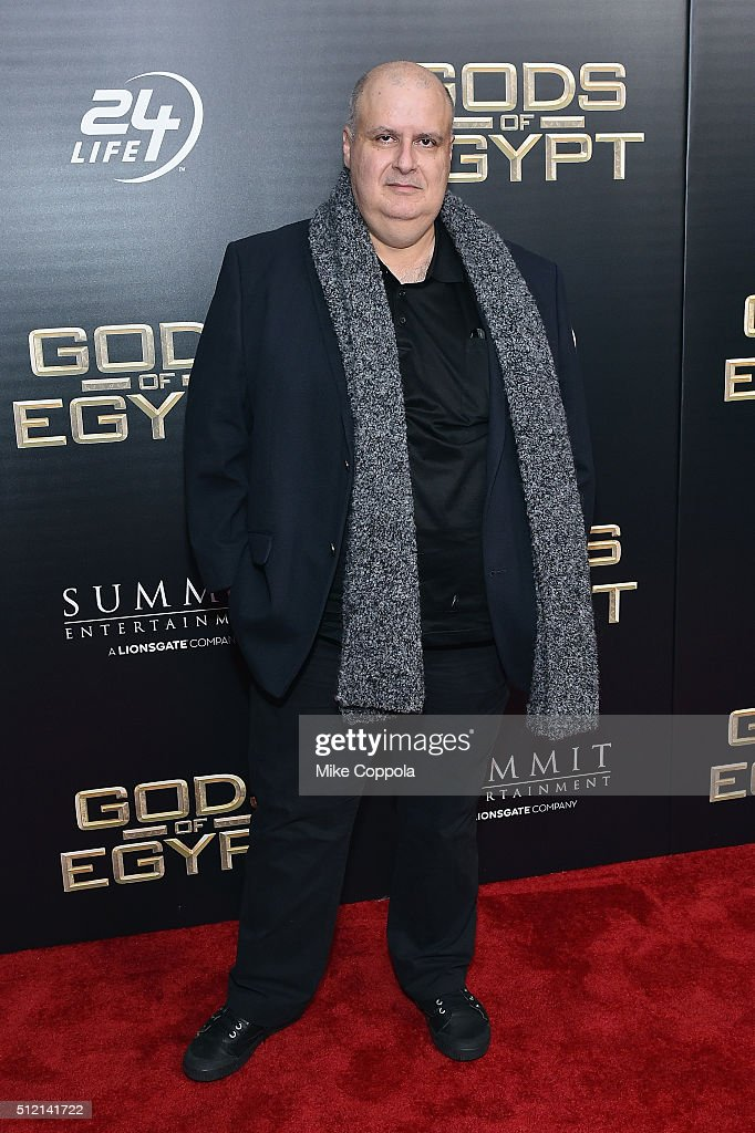 Director Alex Proyas attends the 'Gods Of Egypt' New York Premiere at AMC Loews Lincoln Square 13 on February 24, 2016 in New York City.