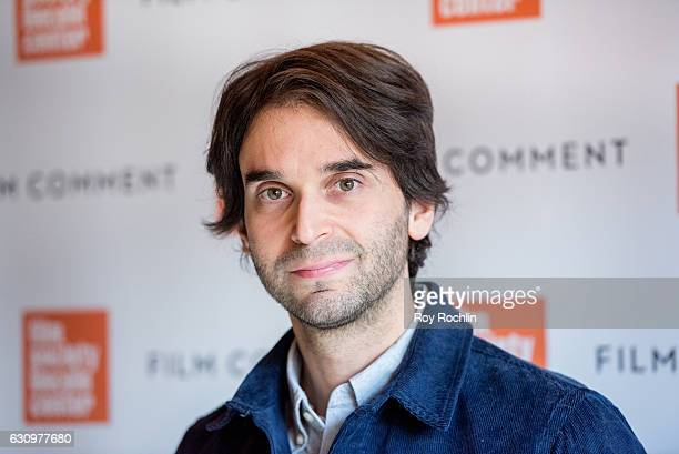 Director Alex Ross Perry attends the 2016 Film Society Of Lincoln Center and Film comment luncheon at Scarpetta on January 4 2017 in New York City
