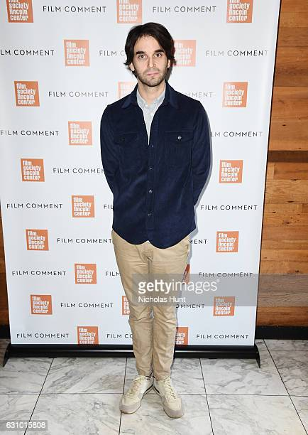 Director Alex Ross Perry attends the 2016 Film Society Of Lincoln Center Film Comment Luncheon at Scarpetta on January 4 2017 in New York City