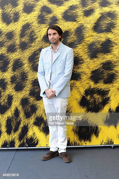 Director Alex Ross Perry attends the 'Listen Up Philip' Photocall during the 67th Locarno Film Festival on August 12 2014 in Locarno Switzerland