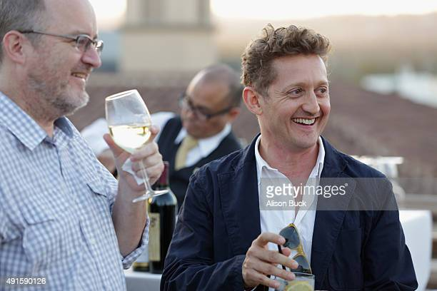Director Alex Winter attends the cocktail reception during TheWrap's 6th Annual TheGrill at Montage Beverly Hills on October 6 2015 in Beverly Hills...
