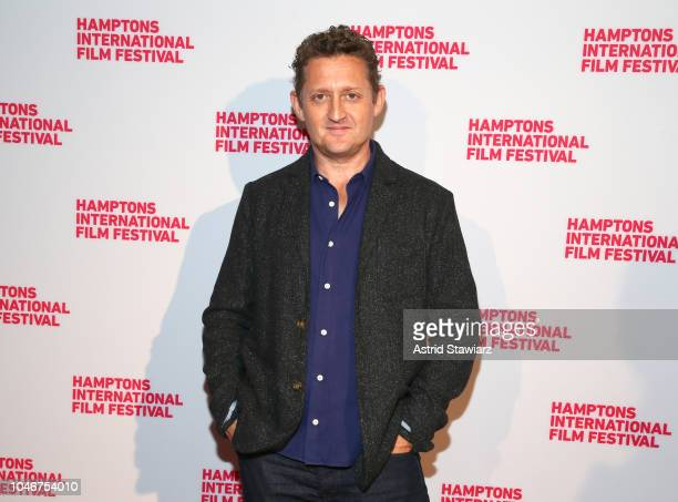 Director Alex Winter attends the photo call for 'The Panama Papers' at UA East Hampton Cinema 6 during Hamptons International Film Festival 2018 Day...