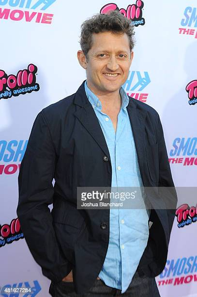 Director Alex Winter attends the premiere of SMOSH THE MOVIE at Westwood Village Theatre on July 22 2015 in Westwood California
