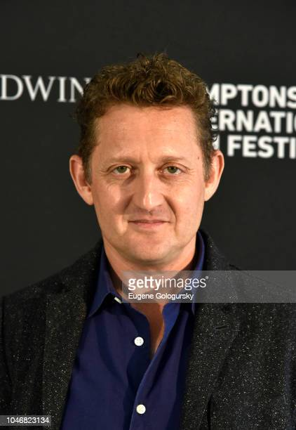Director Alex Winter attends the red carpet and Chairman's Reception at Suna Residence during Hamptons International Film Festival 2018 Day Three on...