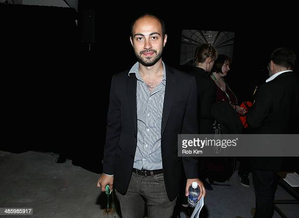 Director Alexander Berman attends the Narrative Press Meet And Greet during the 2014 Tribeca Film Festival at the Tribeca Film Festival Press Lounge...