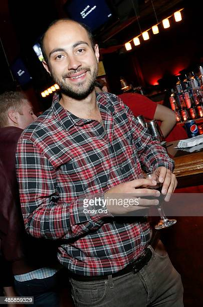 Director Alexander Berman of 'APP' attends the Shorts Filmmaker Party during the 2014 Tribeca Film Festival at M15 Lounge on April 20 2014 in New...