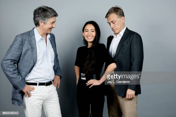 Director Alexander Payne actress Hong Chau and actor Christoph Waltz from the film 'Downsizing' pose for a portrait at the 2017 Toronto International...