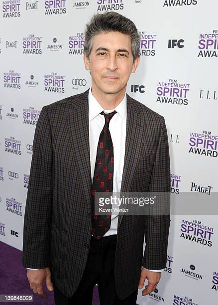 Director Alexander Payne arrives at the 2012 Film Independent Spirit Awards on February 25 2012 in Santa Monica California