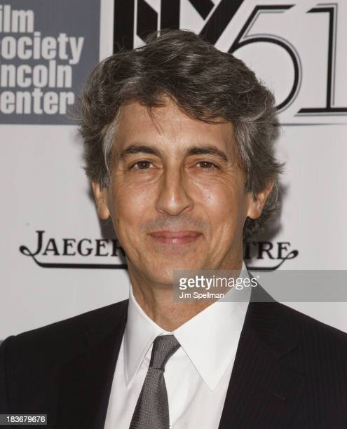 Director Alexander Payne attends the 'Nebraska' Premiere during the 51st New York Film Festival at Alice Tully Hall at Lincoln Center on October 8...