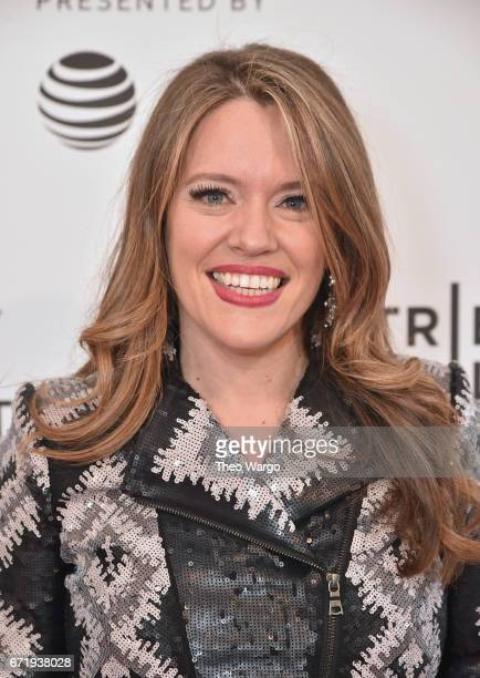 Director Alexandra Dean attends 'Bombshell The Hedy Lamarr Story' Premiere during the 2017 Tribeca Film Festival at SVA Theatre on April 23 2017 in...