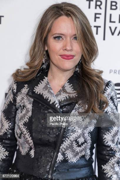 Director Alexandra Dean attends the 2017 Tribeca Film Festival - 'Bombshell: The Hedy Lamarr Story' screening at SVA Theater, Manhattan.