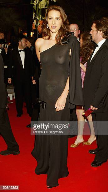 Director Alexandra Kerry daughter of United States Presidential Candidate John Kerry arrives wearing Chopard jewelry to the premiere of 'Kill Bill...