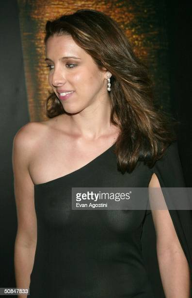 Director Alexandra Kerry daughter of United States Presidential Candidate John Kerry arrives wearing Chopard jewelry to the premiere of Kill Bill II...