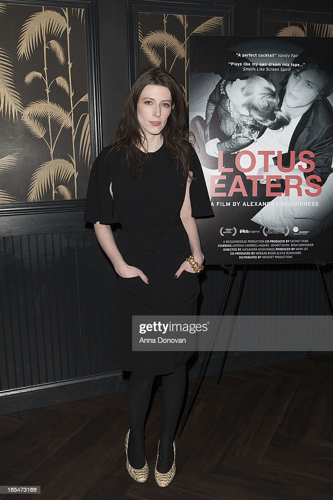 Director Alexandra McGuinness attends 'Lotus Eaters' New York Premiere at No. 8 on April 3, 2013 in New York City.