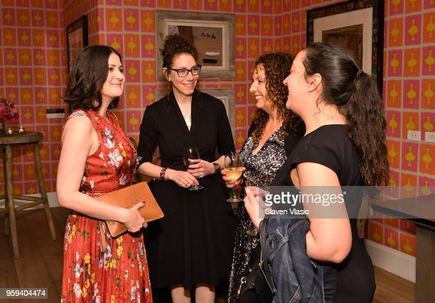Director Alexandra Shiva and guests attend 'This is Home A Refugee Story' New York Premier Screening at Crosby Street Hotel on May 16 2018 in New...