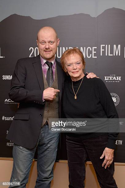 Director Alexandre Philippe and actress Marli Renfro attend the 78/52 Premiere at Egyptian Theatre on January 23 2017 in Park City Utah