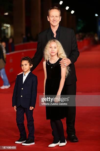Director Alexandre Rockwell his children Lana and Nico Rockwell attend 'Las Brujas De Zugarramurdi' Premiere And 'Lue' Premiere And 'Little Feet'...