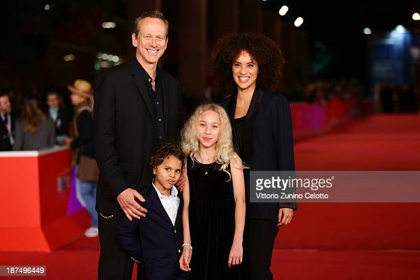 Director Alexandre Rockwell his wife Karyn Parsons and their children Lana and Nico Rockwell attend 'Las Brujas De Zugarramurdi' Premiere And 'Lue'...