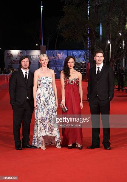 Director Alexei Kaleina actresses Jicky Schnee and Ana Asensio and director Craig Macneill attend 'The Afterlight' Premiere during day 4 of the 4th...
