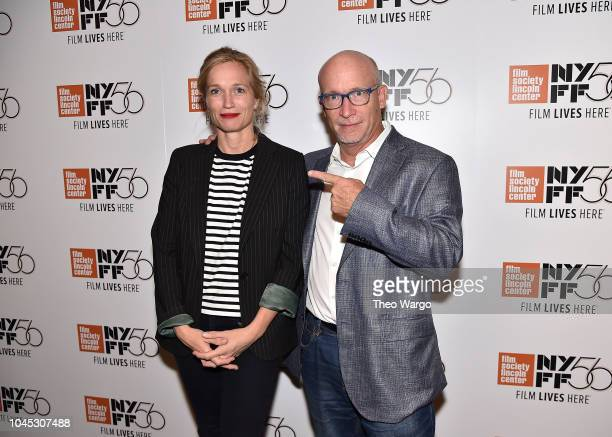 Director Alexis Bloom and Alex Gibney attend the 56th New York Film Festival 'Divide And Conquer The Story Of Roger Ailes' at The Film Society of...