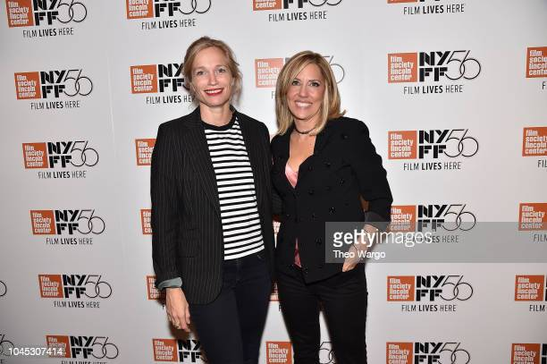 Director Alexis Bloom and Alisyn Camerota attend the 56th New York Film Festival 'Divide And Conquer The Story Of Roger Ailes' at The Film Society of...