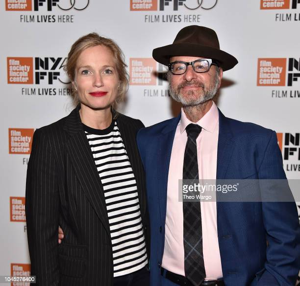 Director Alexis Bloom and Fisher Stevens attend 'Divide And Conquer The Story Of Roger Ailes' during 56th New York Film Festival at The Film Society...