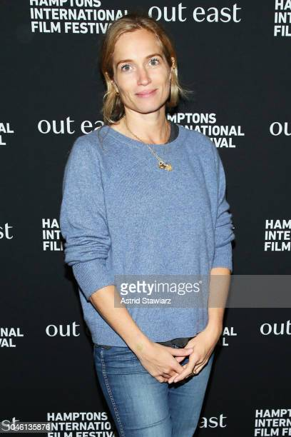 Director Alexis Bloom attends the photo call for Divide and Conquer at UA East Hampton Cinema 6 during Hamptons International Film Festival 2018 Day...
