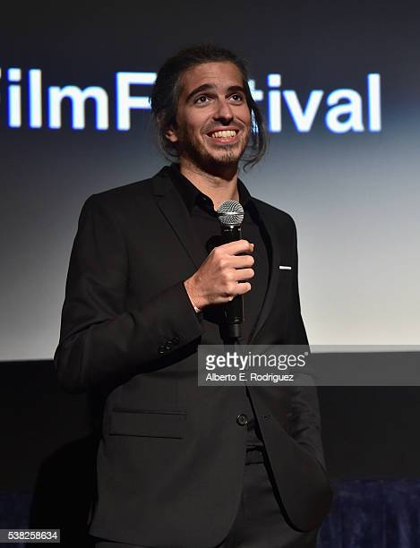 Director Alexis Wajsbrot attends the premieres of 'Don't Hang Up' and SBF 'Night Stalker' during the 2016 Los Angeles Film Festival at Arclight...