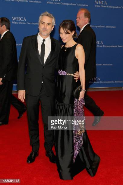 Director Alfonso Cuaron and environmentalist Sheherazade Goldsmith attends the 100th Annual White House Correspondents' Association Dinner at the...