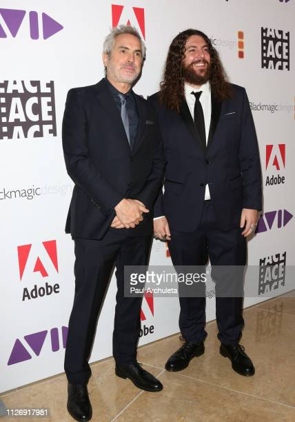 Director Alfonso Cuaron and Film Editor Adam Gough attend the 69th annual ACE Eddie Awards at The Beverly Hilton Hotel on February 01, 2019 in...
