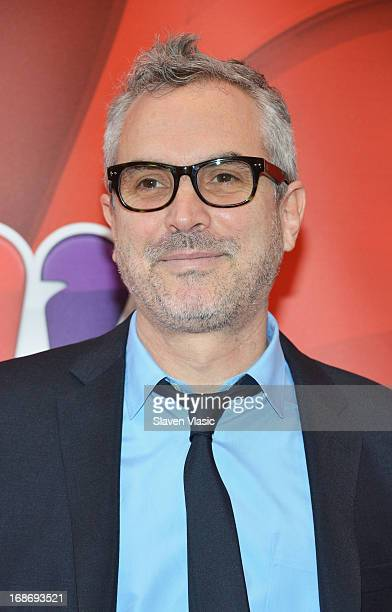 Director Alfonso Cuaron attends 2013 NBC Upfront Presentation Red Carpet Event at Radio City Music Hall on May 13 2013 in New York City