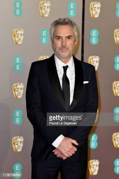 Director Alfonso Cuaron attends the EE British Academy Film Awards at Royal Albert Hall on February 10 2019 in London England