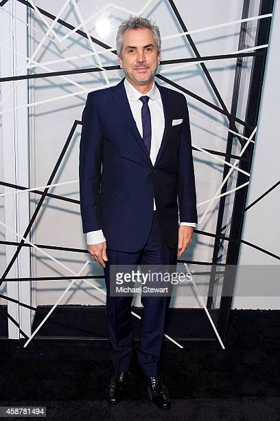 Director Alfonso Cuaron attends the Museum of Modern Art Film Benefit's Tribute To Alfonso Cuaron at Museum of Modern Art on November 10 2014 in New...