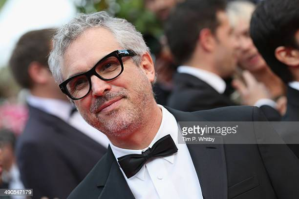 Director Alfonso Cuaron attends the Opening ceremony and the 'Grace of Monaco' Premiere during the 67th Annual Cannes Film Festival on May 14 2014 in...
