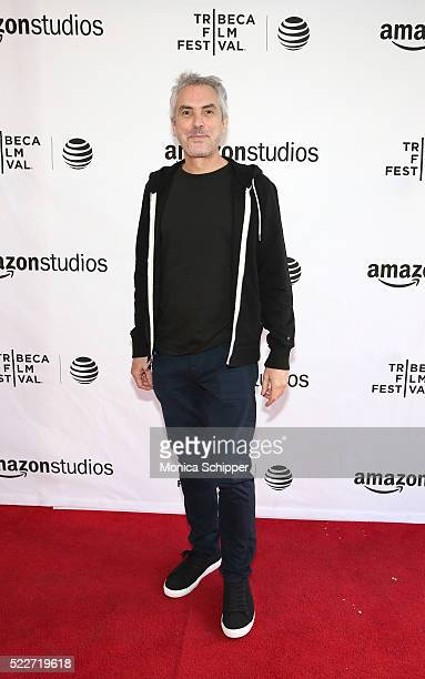 Director Alfonso Cuaron attends Tribeca Talks Directors Series Alfonso Cuaron at SVA Theatre 1 on April 20 2016 in New York City