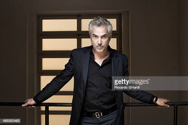 Director Alfonso Cuaron is photographed for Self Assignment on September 10 2015 in Venice Italy