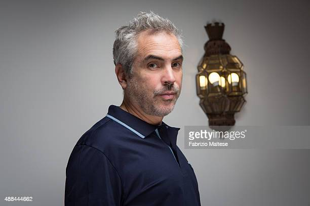 Director Alfonso Cuaron is photographed for The Hollywood Reporter on September 5 2015 in Venice Italy