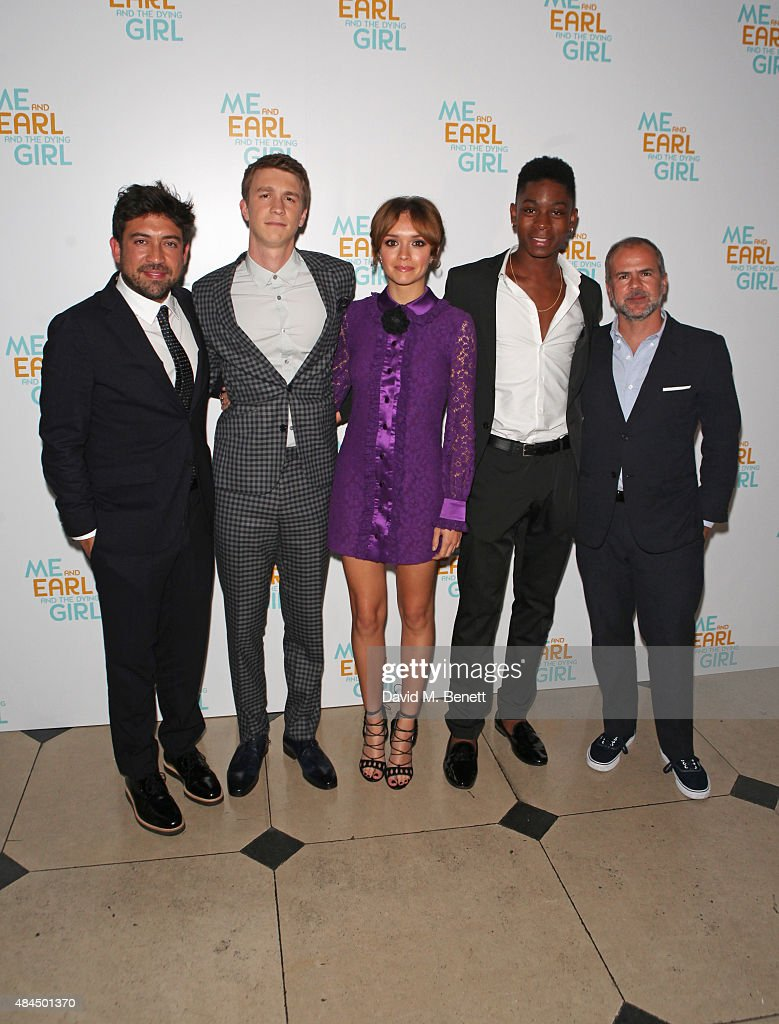 """Me And Earl And The Dying Girl"" - UK Premiere"