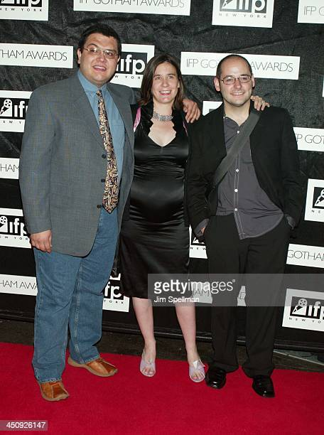 Director Alfredo De Villa Production Designer Charlotte Bourke and Producer Tom Donahue from the Film Washington Heights