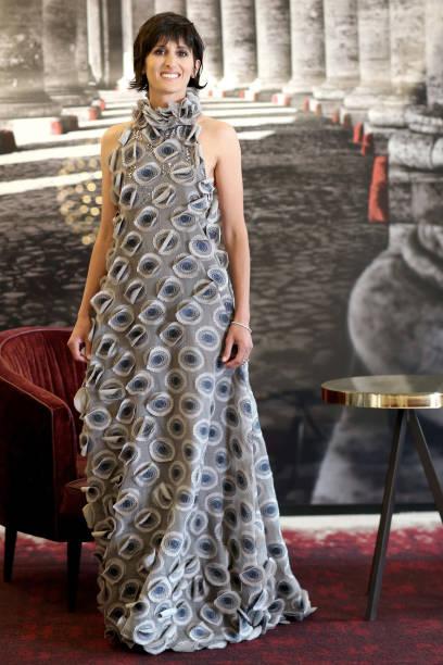 ITA: Alice Filippi Portrait Session - Getting Ready For The David Di Donatello 2021