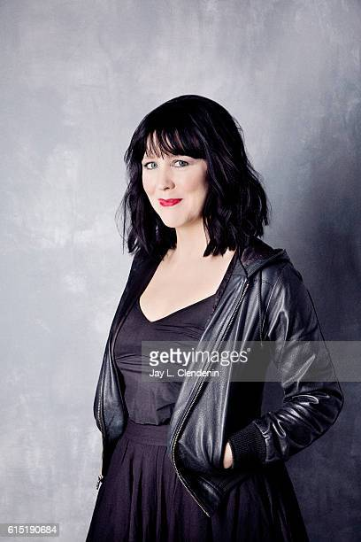 Director Alice Lowe from the film Prevenge poses for a portraits at the Toronto International Film Festival for Los Angeles Times on September 14...