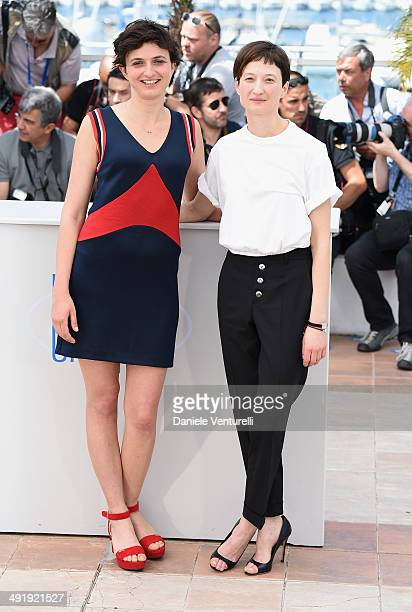 Director Alice Rohrwacher and Alba Rohrwacher attends 'The Wonders' photocall at the 67th Annual Cannes Film Festival on May 18 2014 in Cannes France