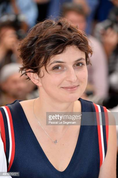 Director Alice Rohrwacher attends the 'La Meraviglie' photocall during the 67th Annual Cannes Film Festival on May 18 2014 in Cannes France