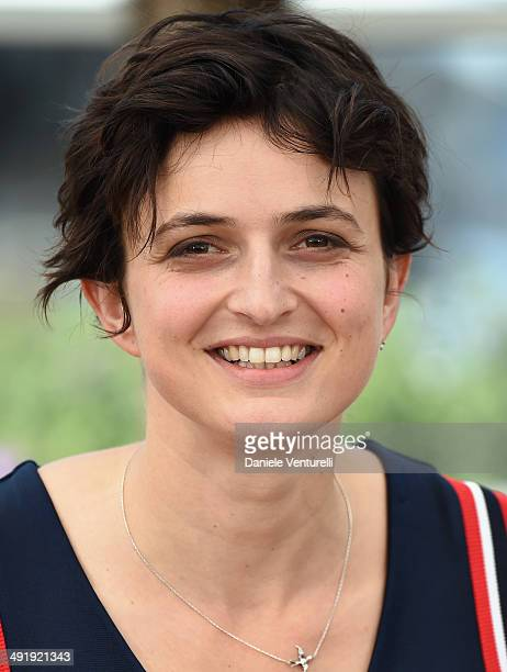 Director Alice Rohrwacher attends 'The Wonders' photocall at the 67th Annual Cannes Film Festival on May 18 2014 in Cannes France